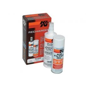 Zestaw olejek + detergent K&N 99-5000