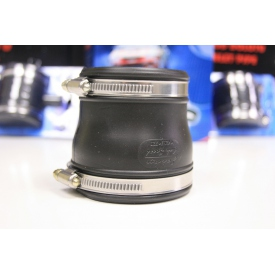 Łącznik elastyczy - redukcja 77mm/67 mm Jacky czarny