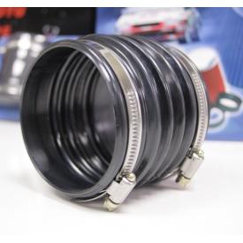 Łącznik antywibracyjny Jacky - czarny 77 mm