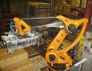 Ramię robota z włókna węglowego przyśpiesza pracę robota i zwiększa jego żywotność - robot Kuka