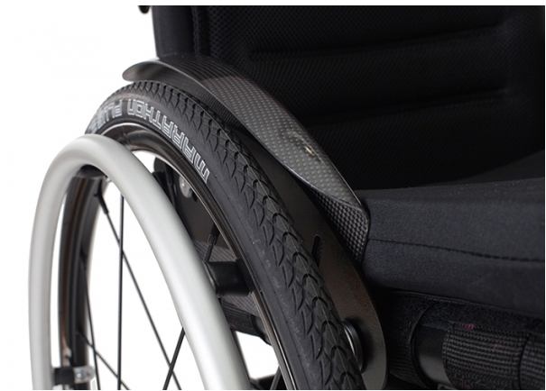 Carbon fiber components for wheelchairs - supplier