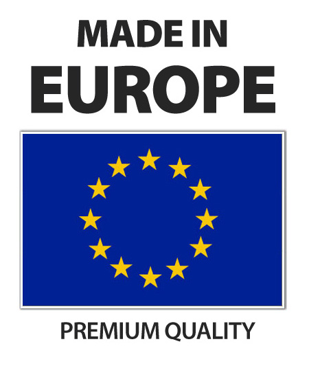 Europe made in Carbon fiber business cards