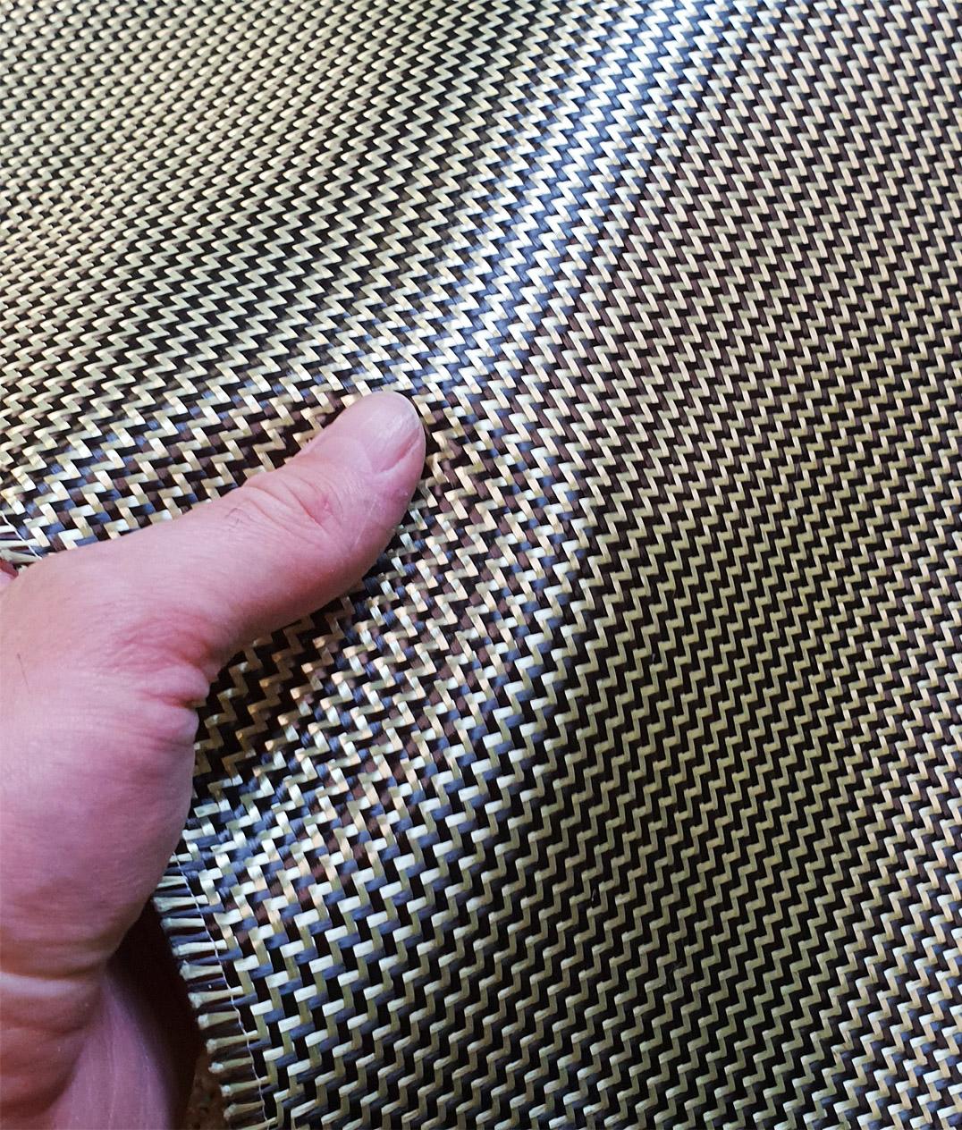 produkcja elementow z tkanin kevlarowo-weglowych kevlar-karbon