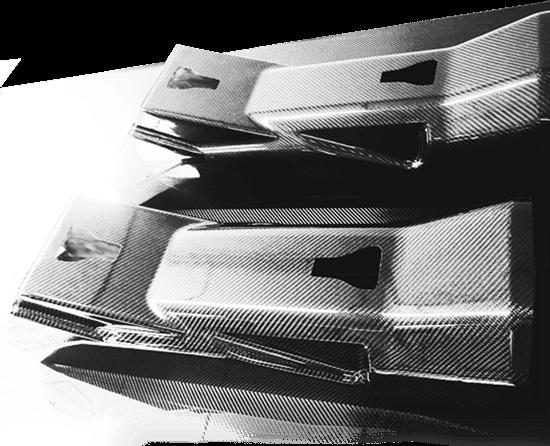 obudowy urządzeń z włókna węglowego, obudowy maszyn carbon