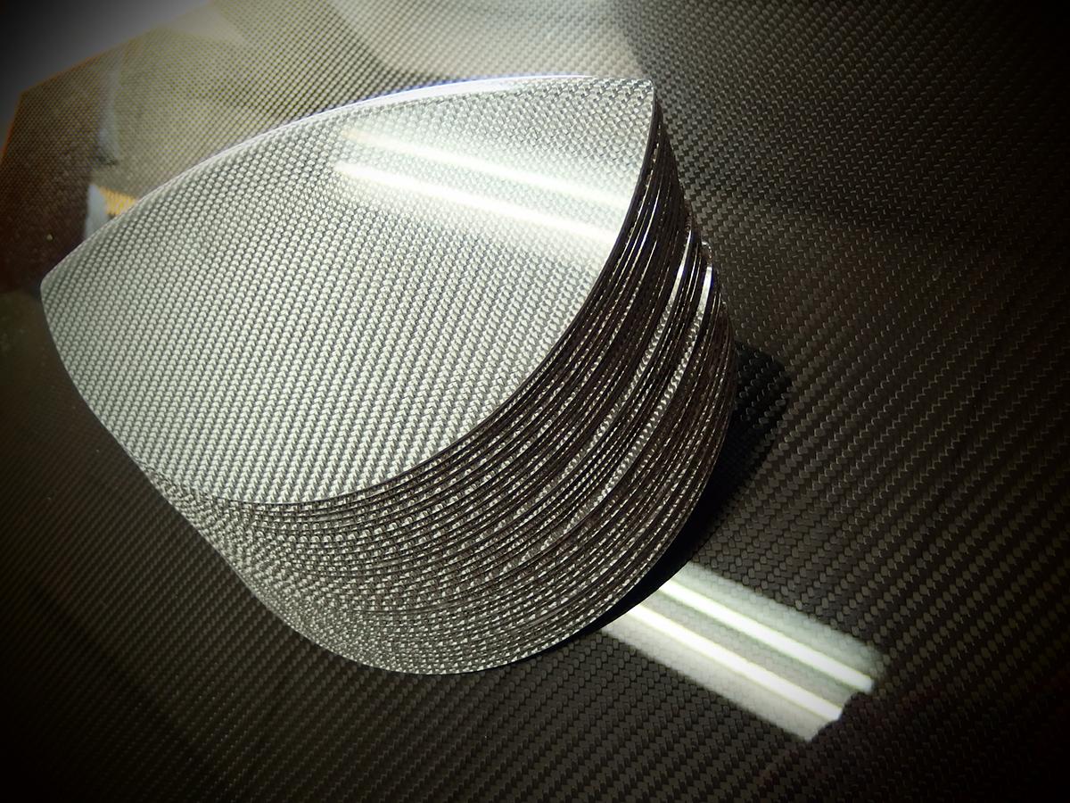 Srebrne włókno węglowe, srebrny carbon